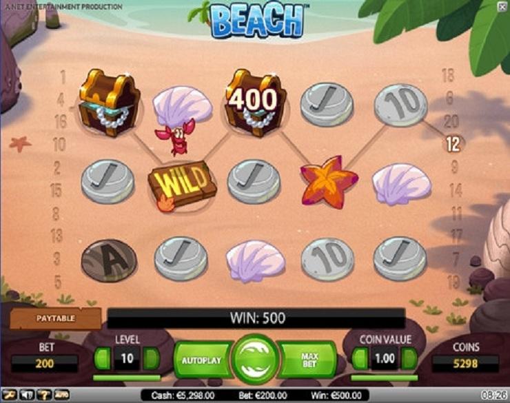 beach tragamonedas gratis