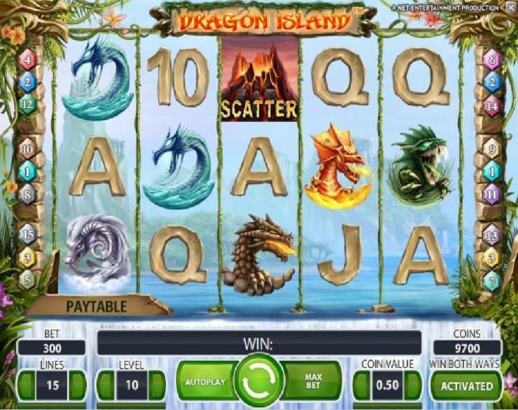 dragon island tragamonedas gratis