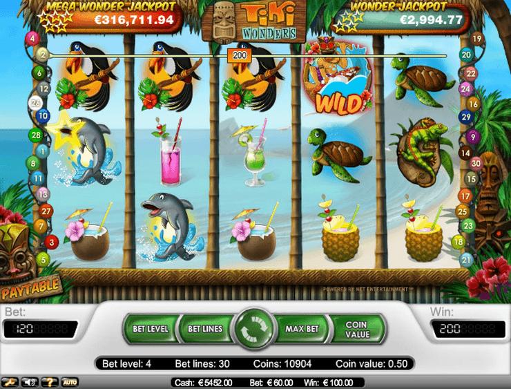Tiki Torch™ Juego de tragamonedas para jugar gratis en Casinos en línea de