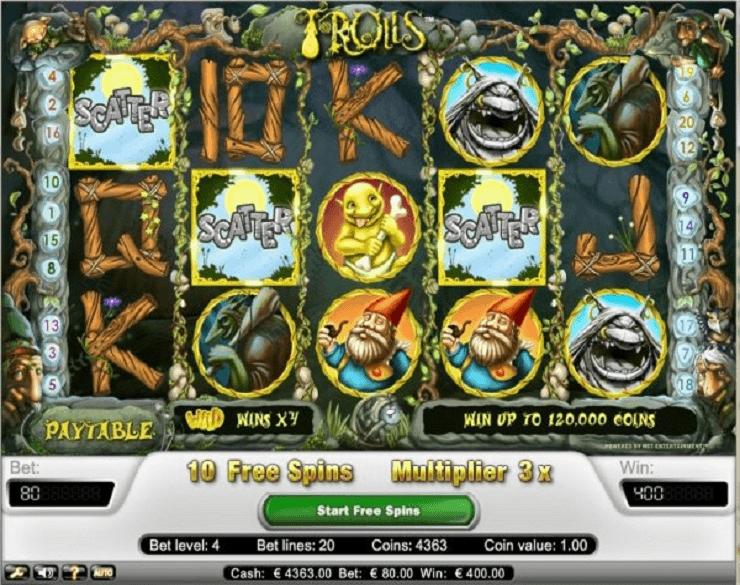 trolls tragamonedas gratis