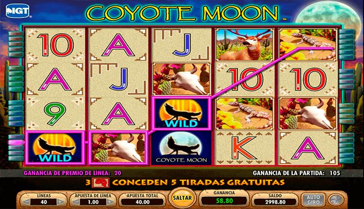 Lll Jugar Coyote Moon Tragamonedas Gratis Sin Descargar En Linea