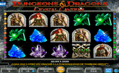 dungeons and dragons crystal caverns tragamonedas gratis sin registro igt