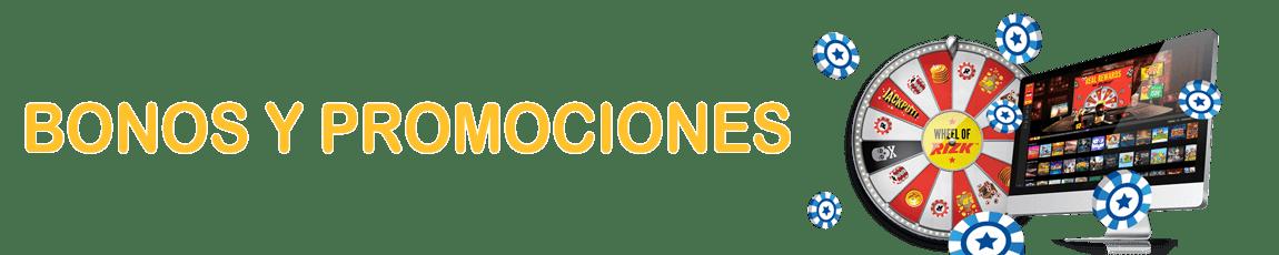 Grandes Bonos de Casino Online   Bono sin depósito y Bono de bienvenida