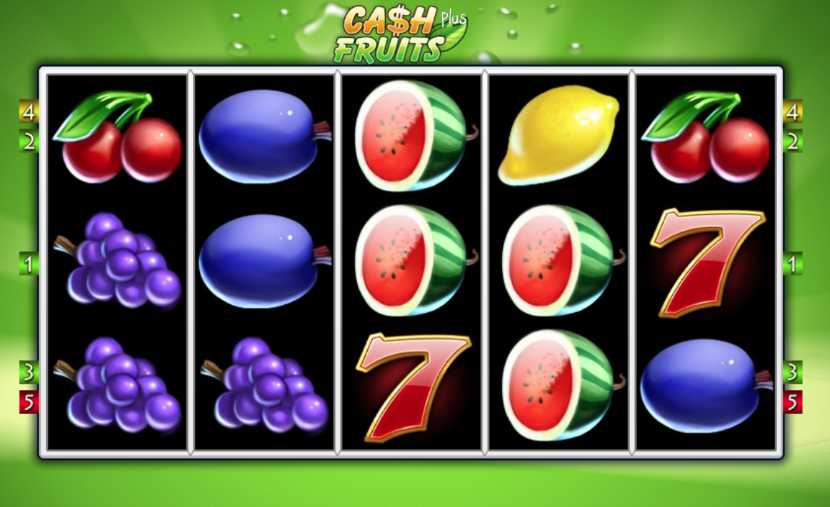 Cash Fruits Plus