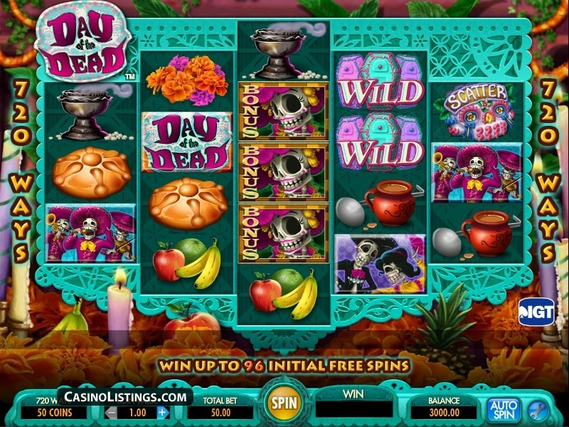 Tragamoneda Day of the Dead – IGT