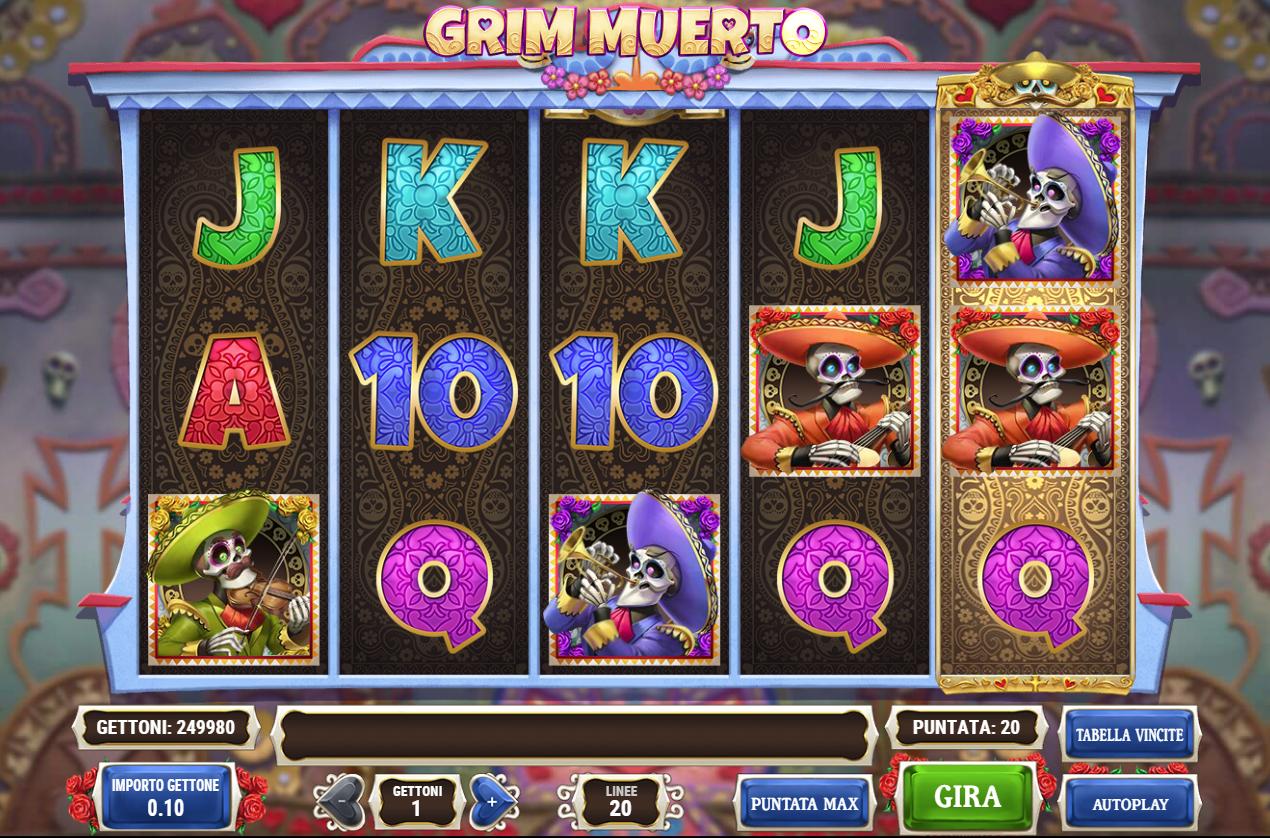 Tragamoneda Grim Muerto – Play'n Go