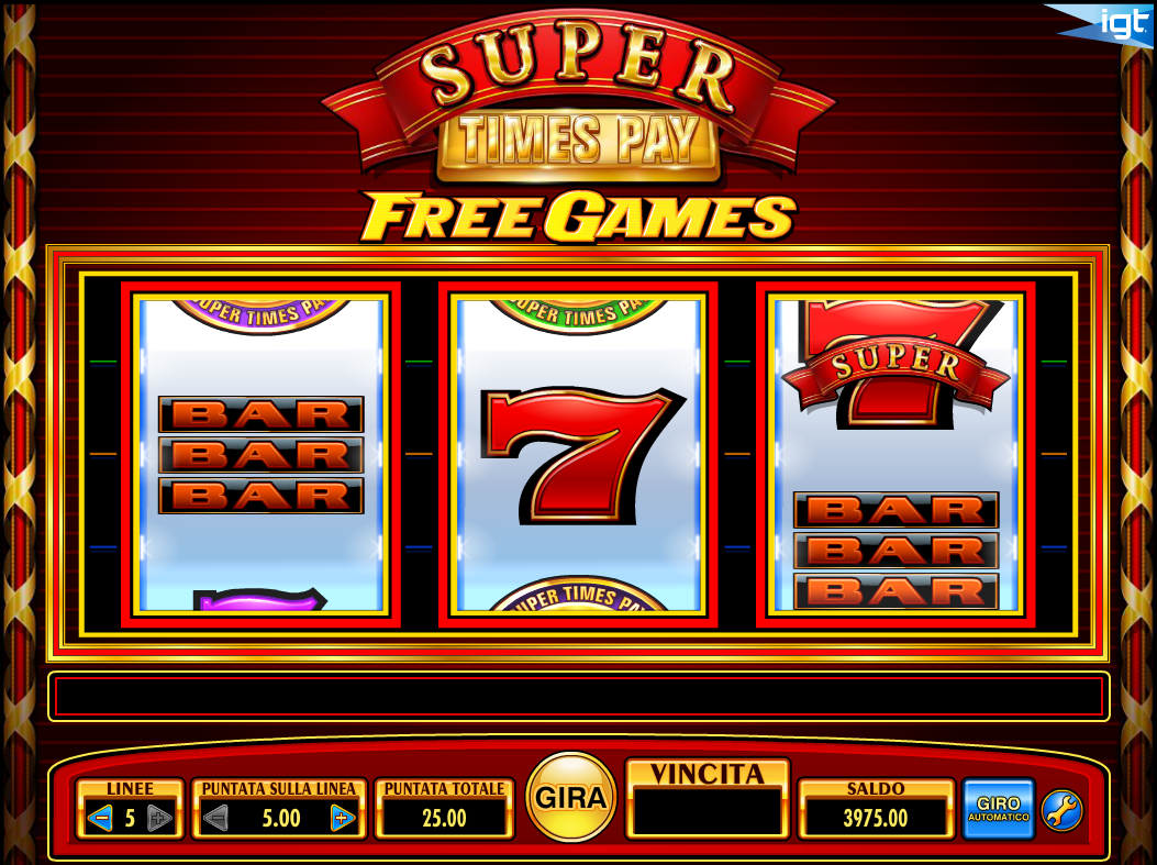 Super Times Pay Free Games