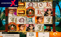 treasure island máquinas tragaperras gratis