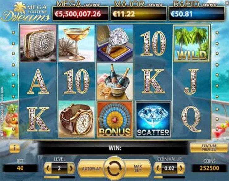 Lucky lady charm deluxe free play