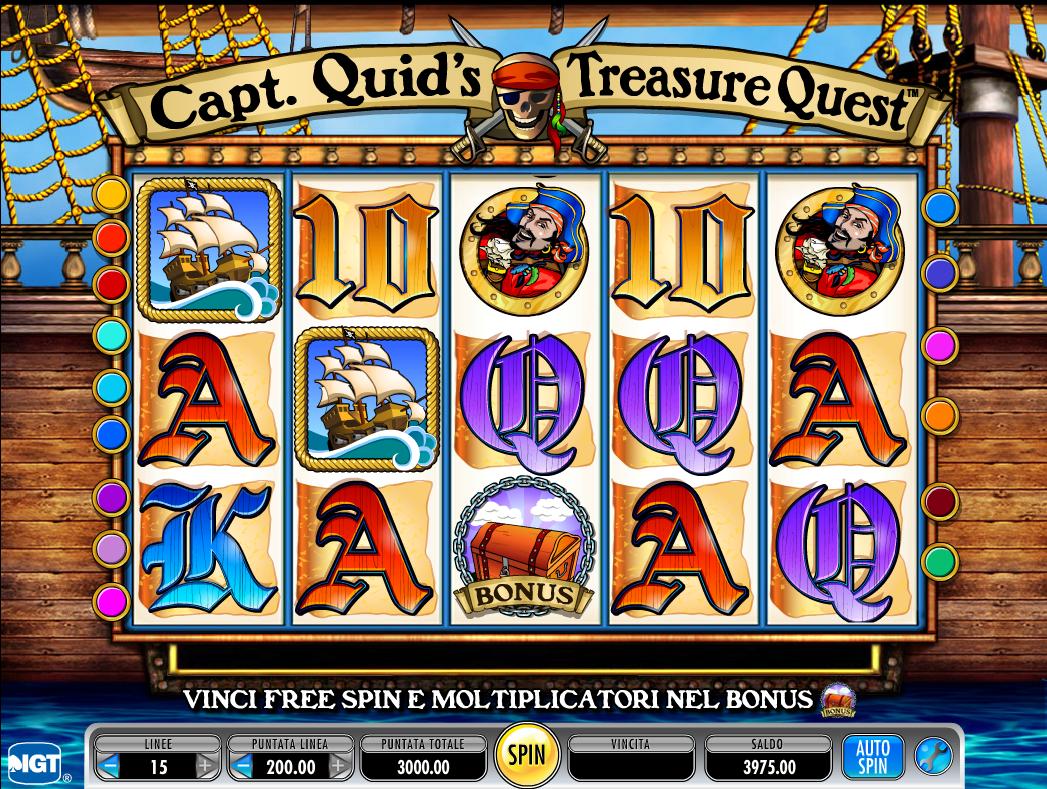Captain Quid's Treasure Quest