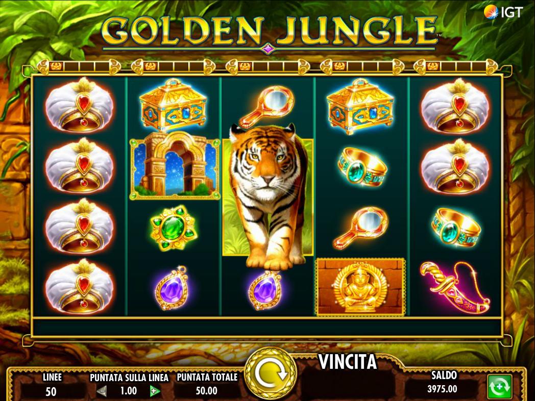 Golden Jungle