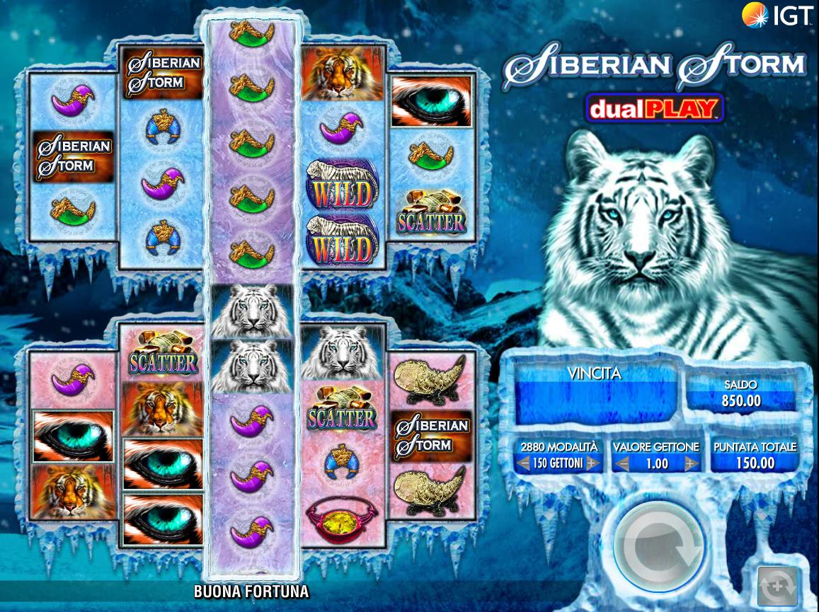 Siberian Storm Dual Play